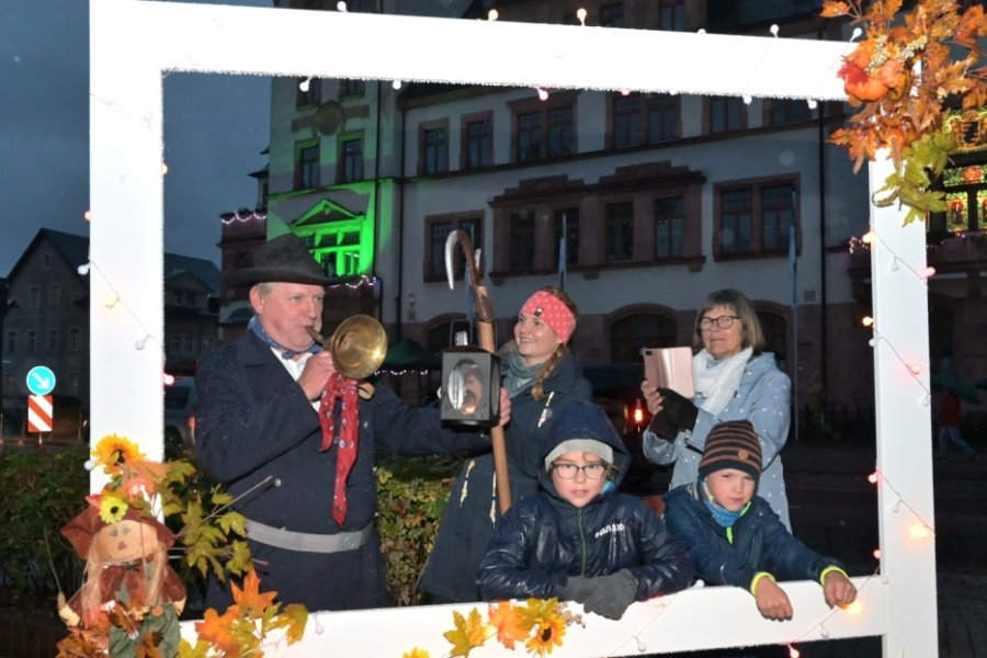 Lichterglanz zur Thalheimer Einkaufsnacht
