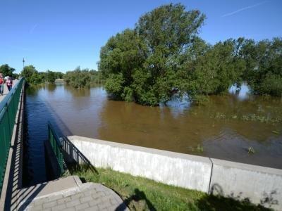Eilenburg blieb trocken:Die 16 000-Einwohner-Stadt in Nordsachsen gilt als ein Muster in Sachen Hochwasserschutz.
