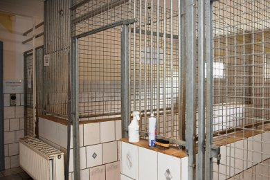 """Zunächst sollen sechs alte Zwinger im Tierheim """"Neu-Amerika"""" weichen und dafür vier neue Hundezimmer entstehen."""