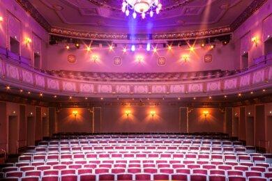Das König-Albert-Theater ist der wichtigste Ort für Veranstaltungen in Bad Elster.