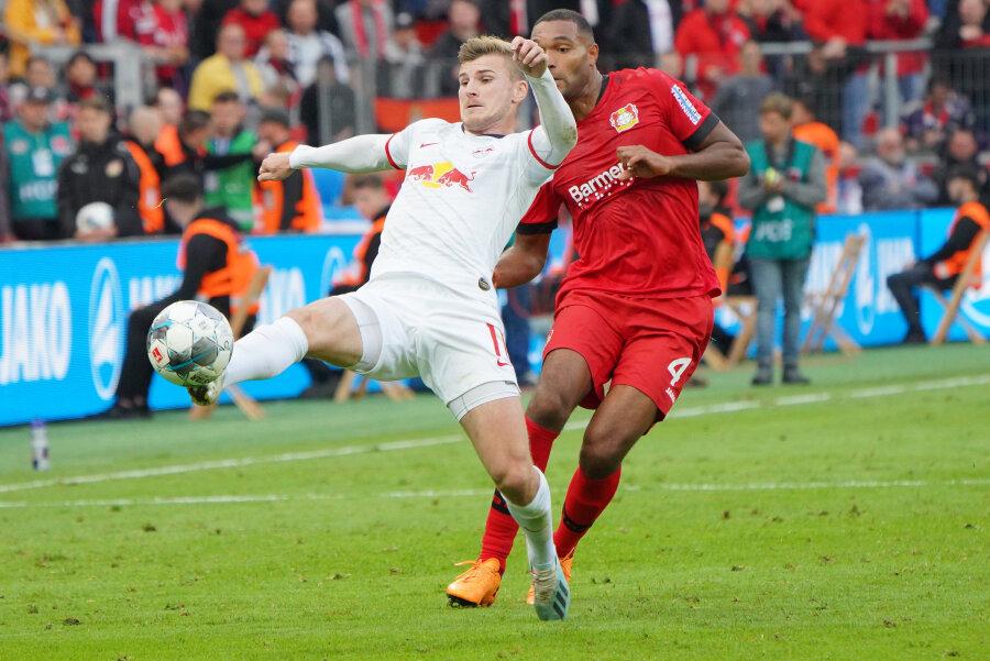 Nkunku rettet Leipzig einen Punkt bei Bayer Leverkusen