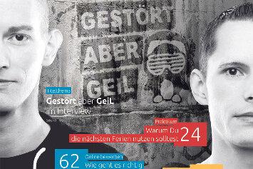 "Druckfrisch. Das September-Heft ""Zukunft""."
