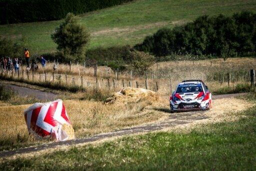Tänak übernimmt die Führung bei der Rallye Deutschland