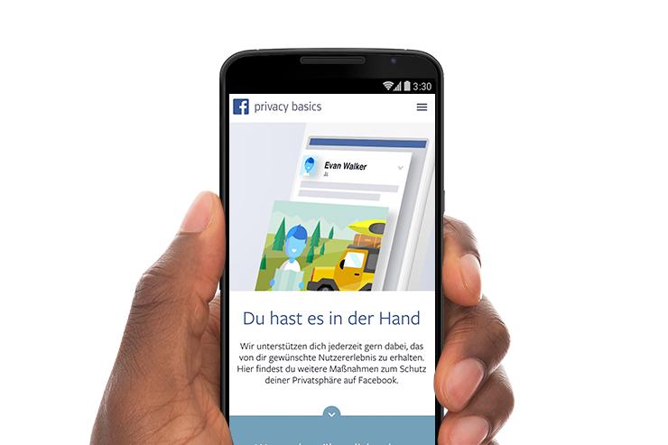 Mehr Kontrolle oder mehr Überwachtung? Seit kurzem informiert Facebook über seine neuen Nutzungsbedingungen.
