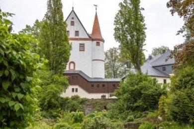Das märchenhafte Schlettauer Schloss soll am Samstagabend ab etwa 22 Uhr in Licht getaucht werden.