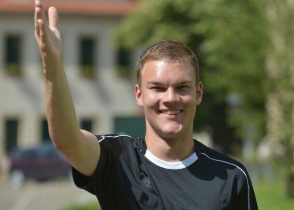 Zeigt in der Oberliga, wo es langgeht: Schiedsrichter Christian Schlömann vom FSV Brand-Erbisdorf.
