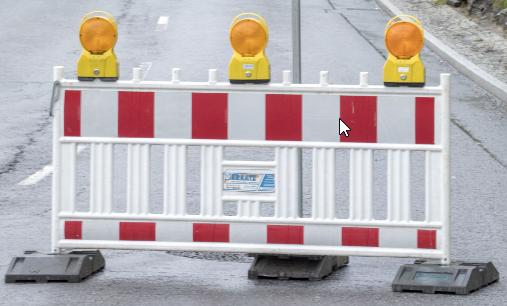 Zwickau-Eckersbach: Wasserrohrbruch soll bis 19 Uhr repariert sein