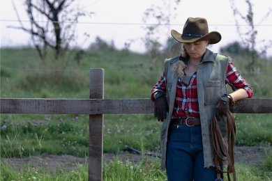 """Nina Hoss als Wiebke in einer Szene des Films """"Pelikanblut - Aus Liebe zu meiner Tochter"""" (undatierte Filmszene). Der Film ist seit Donnerstag in den deutschen Kinos zu sehen."""