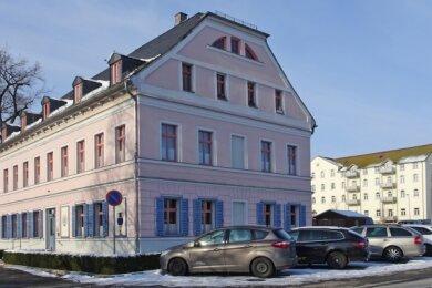 Früheres Foto des 1866/67 erbauten Gebäudes.