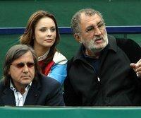 Ion Tiriac (r.) und Ilie Nastase (l.) im Jahr 2004