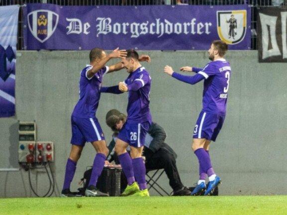 Zweitligist FC Erzgebirge Aue gastiert am 26. Mai in Glauchau.