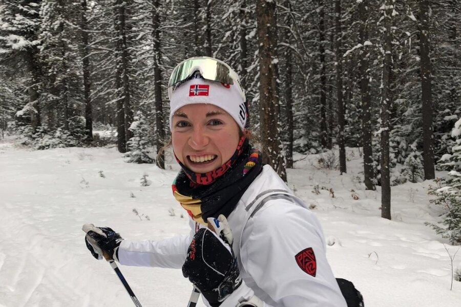 Julia Richter vom SV Sayda gehört zum Aufgebot des Deutschen Skiverbandes bei der Junioren-WM in Oberwiesenthal.