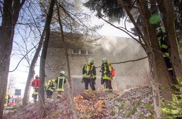 Im Einsatz waren Kameraden der Stadtfeuerwehr Oberwiesenthal, aus Crottendorf und Neudorf.