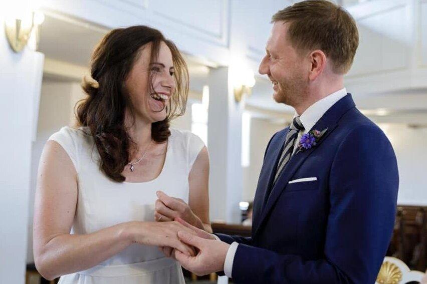 Ministerpräsident Kretschmer hat geheiratet