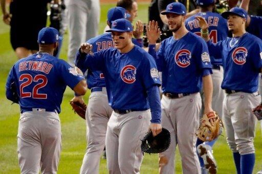 Jubel bei den Chicago Cubs