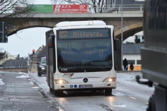 Streiks im Regionalverkehr: Einige Schüler im Erzgebirge dürfen zu Hause bleiben