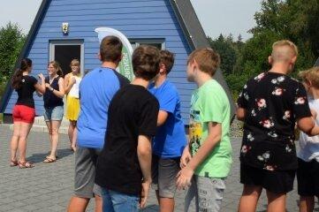 Beim Euregio-Sommerlager 2020 im Schullandheim Limbach war die Stimmung prima.