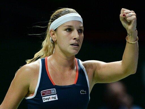 Dominika Cibulkova steht beim WTA-Finale im Endspiel