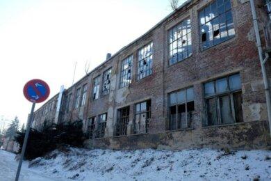 Die frühere Nema-Fabrik bleibt sommers wie winters Thema in Netzschkau.