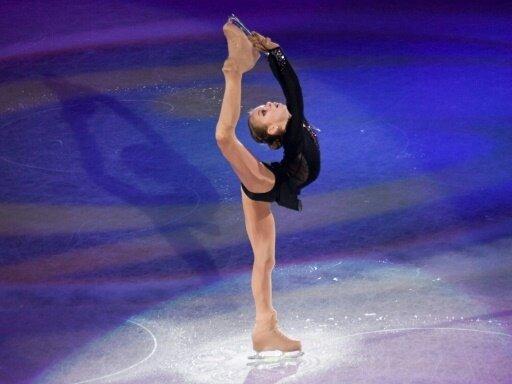 Alexandra Trusowa zeigte zwei Vierfachsprünge