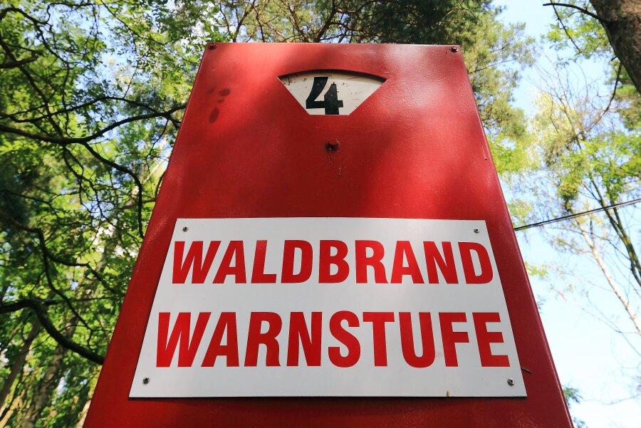 Waldbrandgefahr in Sachsen soll weiter ansteigen