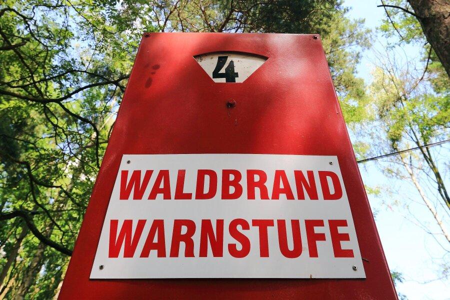 Waldbrandgefahr: Übernachten im Nationalpark Sächsische Schweiz verboten