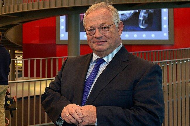 Frankenbergs Bürgermeister Thomas Firmenich, hier in der Frankenberger Zeit-Werk-Stadt.