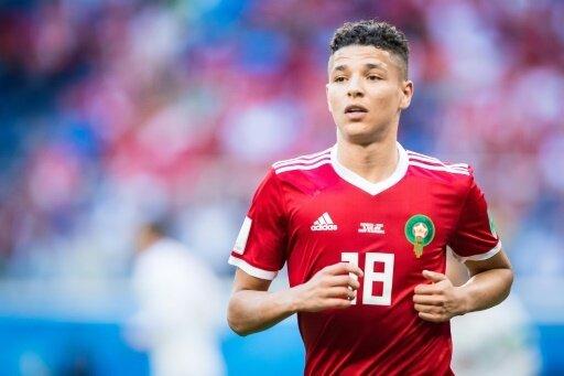 Amine Harit wurde in Marokko in einen Unfall verwickelt