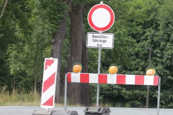 Oelsnitzer Straße teilweise gesperrt