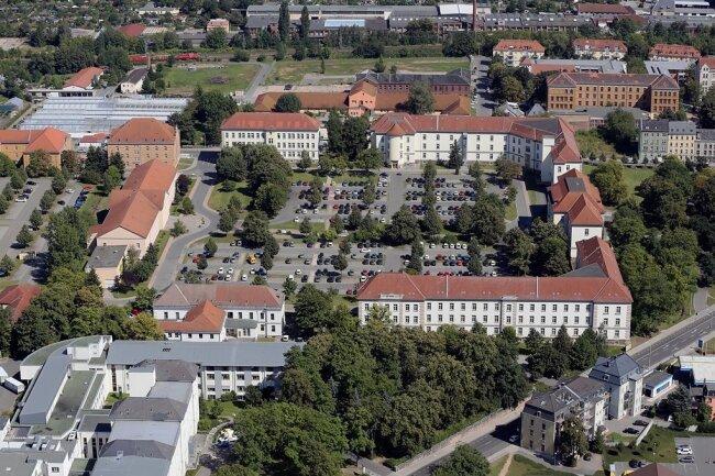 Im Gesundheitsamt im Haus vier des Verwaltungszentrums Zwickau sind derzeit mehrere Stellen nicht besetzt.