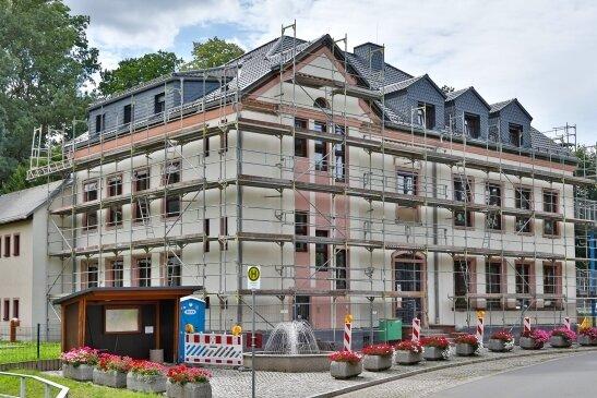 Die energetische Sanierung der Bernsdorfer Grundschule geht weiter.