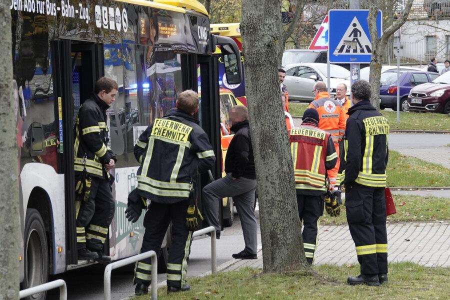 Bus muss bremsen - Fahrgäste verletzt
