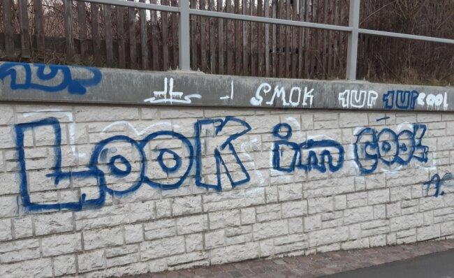 In Mittweida hat die Anzahl der Graffiti in diesem Jahr zugenommen, berichtet die Stadtsprecherin. Der Vandalismus im Stadtgebiet ist aber nicht auf Schmierereien beschränkt.