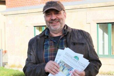 Mit Reiner Schirmer geht der dienstälteste Mitarbeiter im Rathaus Flöha am 30. Dezember in Rente. Er wurde 1984 beim Rat der Stadt Flöha als Stadtrat für Kultur eingestellt.