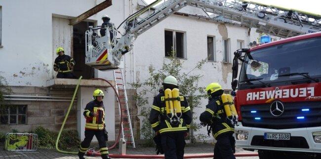 Feuerwehreinsatz am Sonntag in Reichenbach.