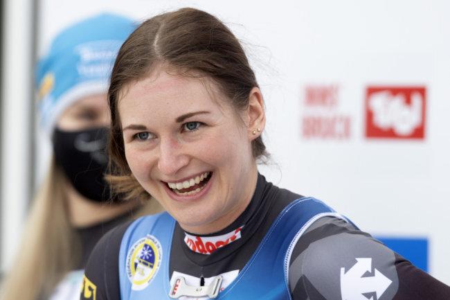 Rennrodlerin Julia Taubitz