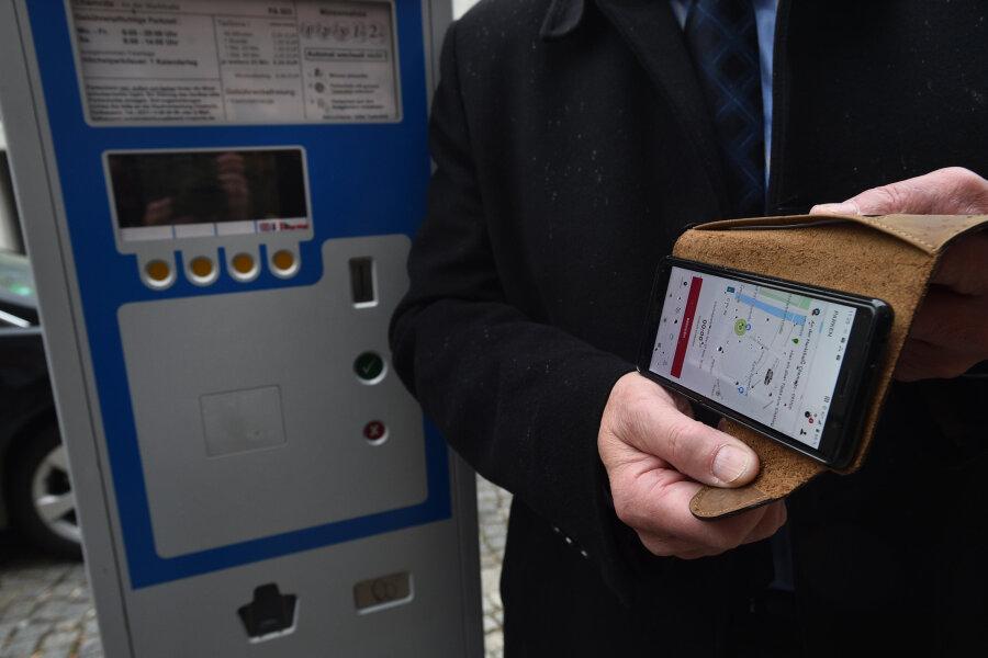 Chemnitz führt Handy-Parken ein