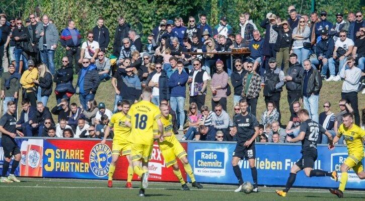 999 Zuschauer waren im Stadion an der Beyerstraße erlaubt. Und so viele waren am Sonntagnachmittag auch da.