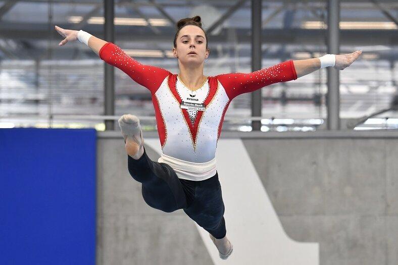 Weltmeisterin Pauline Schäfer.