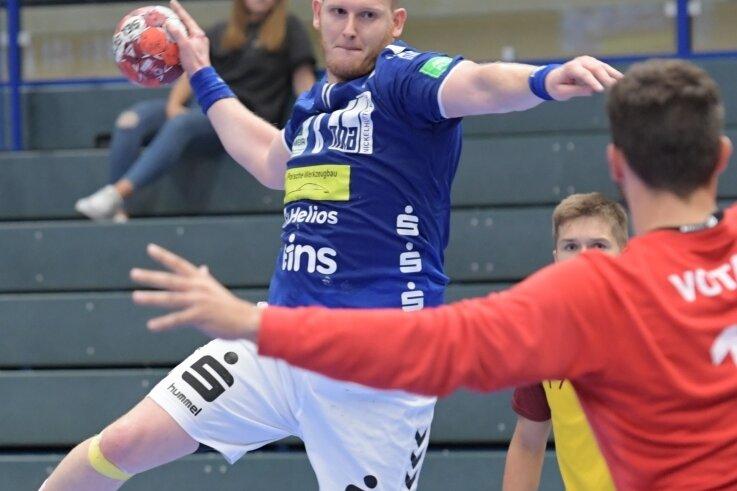 Kreisläufer Bengt Bornhorn kommt wie seine Auer Teamkollegen immer besser in Schwung. Der EHV gewann zuletzt den Test gegen Prag.