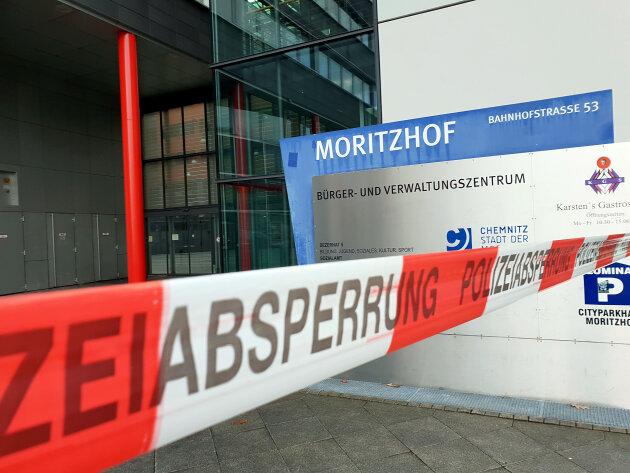 Entwarnung nach fünfter Bombendrohung gegen Chemnitzer Jugendamt