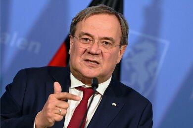 Nordrhein-Westfalens Ministerpräsident Armin Laschet (CDU), bewirbt sich im Team mit Gesundheitsminister Jens Spahn für den CDU-Vorsitz.