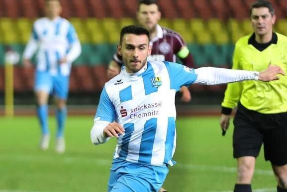 Joannis Karsanidis fällt beim Chemnitzer FC erneut lang aus