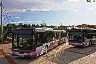Plusbusse verzeichnen oft höhere Fahrgastzahlen - bis 2025 sollen weitere Linien hinzukommen.