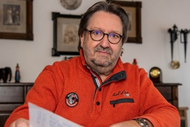 Axel Felgner ärgert sich über den Quarantäne-Bescheid, den er erst Wochen später erhielt.