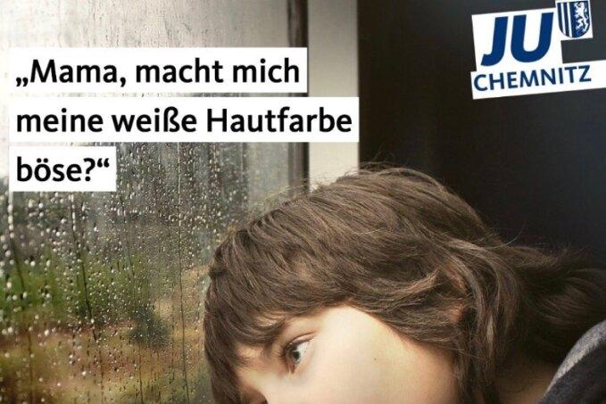 Mit ihrem Social-Media-Post hat die Junge Union Chemnitz im Internet viel Aufmerksamkeit auf sich gezogen. Inzwischen wurde der Post wieder gelöscht.