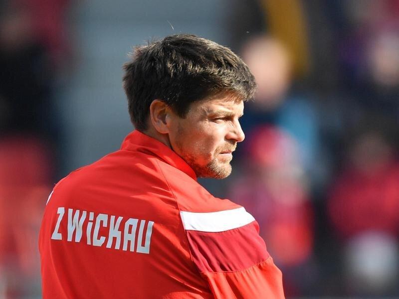FSV-Trainer Torsten Ziegner im Stadion.