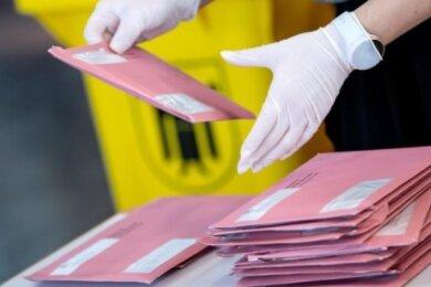Das Briefwahlbüro der Stadt Zwickau hat ab Montag geöffnet.