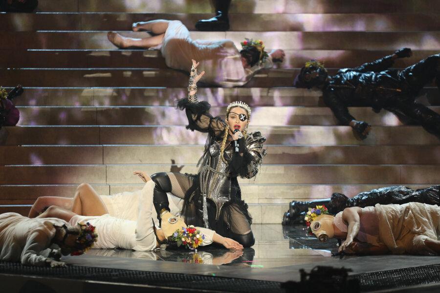 Viel Häme über Madonnas holprigen Auftritt beim ESC