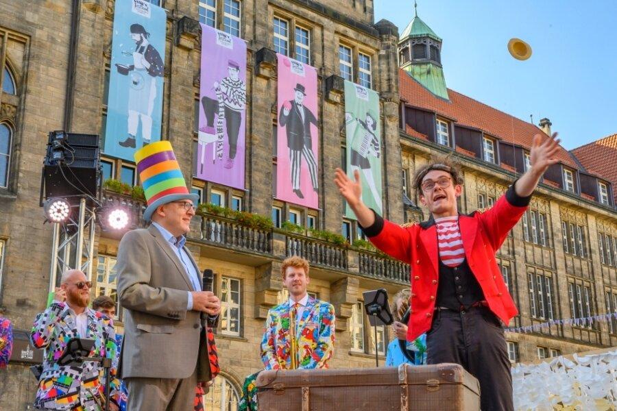 Festival der Straßenkunst bringt Stimmung und Kultur in die Innenstadt